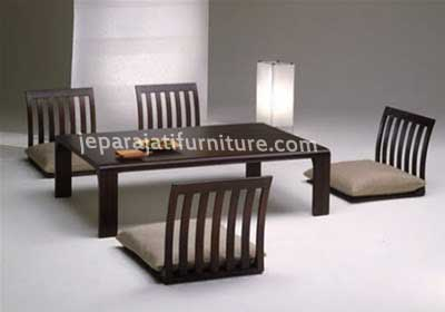 Home Design Furniture Decorations and Accessories Minimalist House 5 Kursi Meja Makan Lesehan