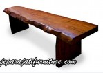 Bangku Bench Kayu Natural